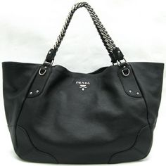 Best Prada Black Leather Tote Bag Br3798 179 Purses