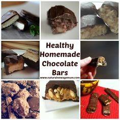 Healthy homemade chocolate bars..  Main bonus is being able to enjoy a GMO-free treat, since 99.9% of commercial chocolate contains GMO soy among other things...