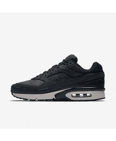 huge discount 4fdae bde25 Nike Air Max Bw Premium Womens Black Black Light Bone Dark Grey