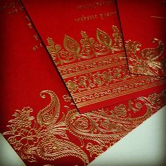 Hima is one of our most popular Indian inspired #wedding #invitations. Its…