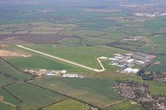 Sywell's new hard runway 03/21