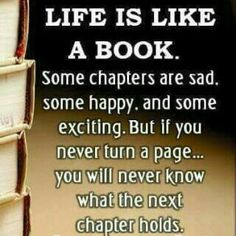 Life is like a book