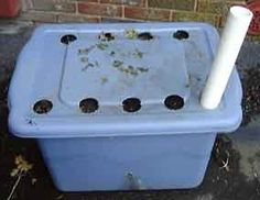 "Original/Best DIY ""Earthbox"": Homemade Self-Contained Gardening Systems... useful for full-time RV living & small home gardens"