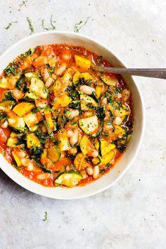 Stewed Zucchini in F