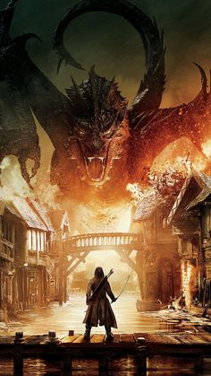 Lovely the Hobbit iPhone Wallpaper