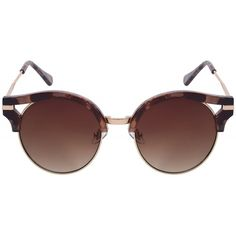 c776fe46927 Oversize Chunky Frame Wide Temple Oval Round Sunglasses 55mm - Black   Smoke  - CL127Y685DX