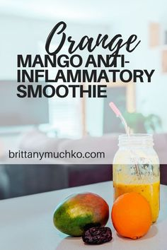 Click to see one of my favorite healthy smoothie recipes! This orange mango anti-inflammatory smoothie is perfect for busy ladies that are on the go but still want to stay healthy! Gut Health | Weight Loss | Healthy Smoothie Recipe | Anti-Inflammatory | Holistic Health | Holistic Nutrition | Natural Energy | Health and Wellness #brittanymuchko #guthealth #weightloss #holisticnutrition #holistichealth #smoothierecipe #glutenfree #dairyfree Low Fat Breakfast, Quick Healthy Breakfast, Gut Health, Health And Wellness, Health Fitness, Weight Loss Meal Plan, Healthy Weight Loss, Healthy Smoothies, Smoothie Recipes