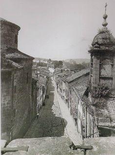 Rua das Hortas 1919 Fotos antiguas de Santiago