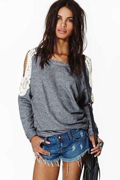 New Romantic Sweatshirt | Shop Tops at Nasty Gal