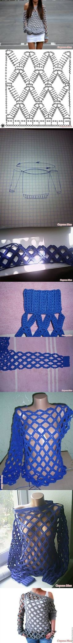 DIY Crochet Blouse