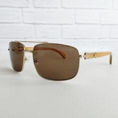 d9bece2317 Gold and wood eyewear Porta Romana 1963 101 by LookEyewear on Etsy