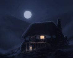 ArtStation - In the Middle of the Night, Marin Olah