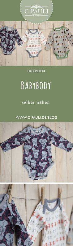 Babybodys selber nähen | C.Pauli Nature Blog