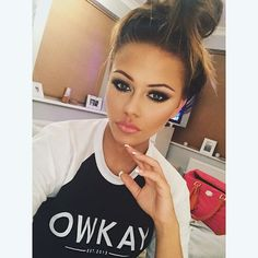 Bun head wearing @owkayclothing
