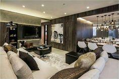 Inspiração ♡ #interiores #design #interiordesign #decor #decoração #decorlovers #archilovers #inspiration #ideias #sala #living #saladeestar #livingroom #saladetv #hometheater #saladejantar #diningroom