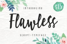 Flawless Script by giemons on @creativemarket