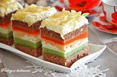Ciasto z melonem Yummy Cakes, Vanilla Cake, Ale, Cheesecake, Cupcakes, Baking, Food, Kuchen, Cupcake Cakes