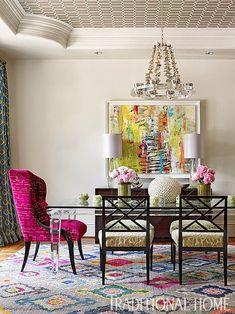 Dining Room Colors, Dining Room Design, Living Room Chairs, Dining Rooms, Dining Chairs, Custom Furniture, Contemporary Furniture, Design Eclético, House Design
