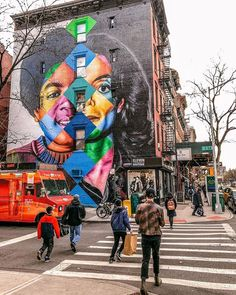 Williamsburg, Brooklyn que faire ? Street Art News, 3d Street Art, Brooklyn New York, New York City, Blog New York, Williamsburg New York, North And South, Instagram New York, Voyage New York