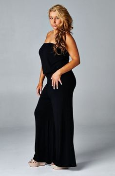 10b53bd76a58 Plus Jumpsuit in Black. Plus JumpsuitWholesale ClothingPlus Size ...
