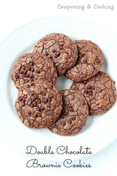 Couponing & Cooking: Double Chocolate Chip Brownie Mix Cookies