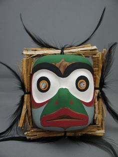 """The MOA Shop: """"Salmon Mask"""" by carver Rupert Scow. SOLD"""