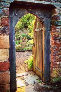 Dunster, Somerset, England doorway