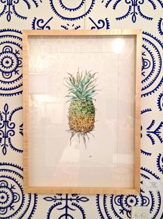 pineapple artwork by Pip Shining