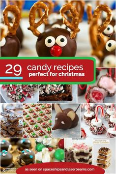 29 Christmas Candy Recipes!