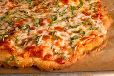 A light brush of olive oil helps this homemade wheat-free pizza dough crisp up in the oven. What to buy: Potato starch is a very fine flour that is often used...