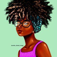fille noire GF