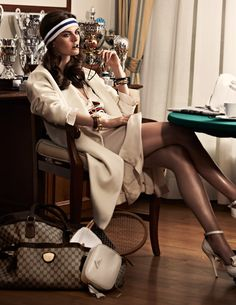 Habitually Chic®: Tennis Anyone? Because this is EXACTLY what I'd wear to a tennis match. So practical.