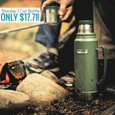Stanley Classic Vacuum Bottle only $17.71! Was $40!