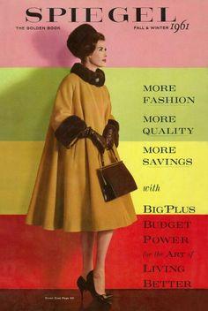 60 Fashion, 1950s Fashion, Fashion Models, Fashion Beauty, Vintage Fashion, Fashion Sewing, Fashion Styles, Moda Vintage, Vintage Mode
