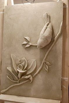 Lofty plaster wall art best interior sculptures mstor info perfect ideas images on incredible decoration uk is one of images from plaster wall art. Find more plaster wall art images like this one in this gallery Mounting idea for clay humming bird 275 bes Plaster Sculpture, Plaster Art, Sculptures Céramiques, Plaster Walls, Sculpture Clay, Sculpture Painting, Sculpture Ideas, Ceramic Sculptures, Clay Wall Art