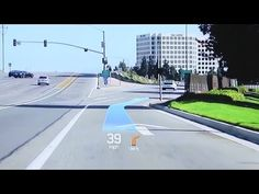 Hyundai's Future Augmented Reality Looks Pretty Cool Futuristic Technology, Cool Technology, Ar Augmented Reality, Car Ui, New Twitter, Head Up Display, Ares, Celebrity Travel, Dashcam