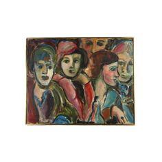 Original Oil Painting of Ladies #huntersalley