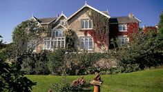 The beautifully-refurbished country-house hotel of Penally Abbey in Tenby, Pembrokeshire, ...