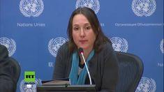 Journalistin zerlegt in den UN in 2 Minuten die Glaubwürdigkeit der Main...