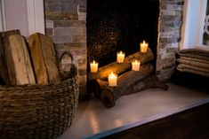 Ken Wingard shows you how to make faux fire logs that'll cozy up your home. Home And Family Crafts, Home And Family Hallmark, Christmas Crafts For Gifts, Christmas Diy, Christmas Decorations, Hallmark Homes, Fireplace Logs, Hallmark Channel, Log Homes