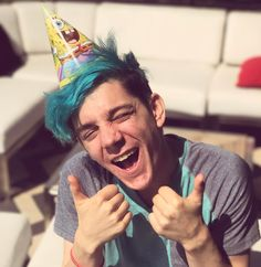 """39.6k Likes, 905 Comments - CrankGameplays (@crankgameplays) on Instagram: """"I love me a good party hat!"""""""