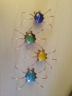 Stained Glass Screen Bugs by BobsScreenBugs on Etsy