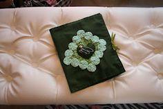 Kit costura em feltro - verde