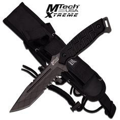 "MTech USA Xtreme ""Elite Survivor"" Fixed Blade Knife with G10 Handles"