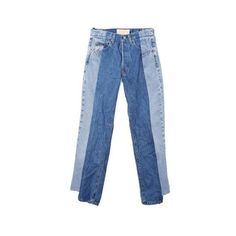 Alxvndra Alxvndra Denim 26 (2.455 DKK) ❤ liked on Polyvore featuring jeans, pants, bottoms and denim
