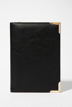 Metal-Tipped Faux Leather Wallet | Forever 21 - 1000154724