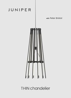 Thin Chandelier by Juniper Design (Made in the USA)
