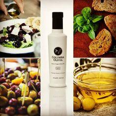 The combination of olive oil and green salad or vegetables gives the Mediterranean diet its healthy edge! COLUMBA OLIVIA Organic Extra Virgin Olive Oil 250ml. Ο συνδιασμός του ελαιολάδου με πράσινη σαλάτα ή λαχανικά δίνει στη Μεσογειακή διατροφή το ανταγωνιστικό της πλεονέκτημα! #organic #evoo #extravirginoliveoil #mediterranean #diet