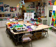 Quilt Studio Ideas | Diane Melms - Studio Time