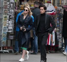 Lili and cole in paris